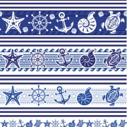 Link toCreative marine elements vector pattern 02 free