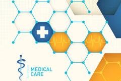 Link toCreative medical background vector