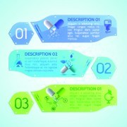 Link toCreative medical banner with number vector 02