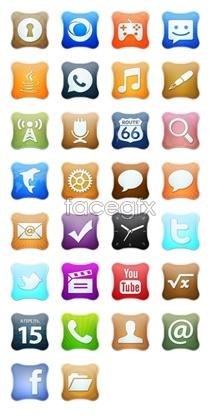 Link toCreative mobile phone desktop icons