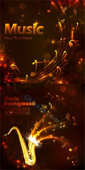 Link toCreative music card vector free