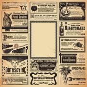 Link toCreative newspaper design elements vector set 04 free