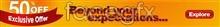 Link toCreative orange web advertising banner design templates psd