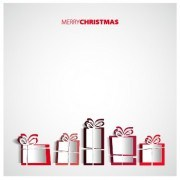 Link toCreative origami christmas elements backgrounds vector 03