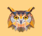 Link toCreative owls head vector