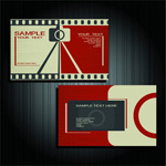 Link toCreative photography business cards vector