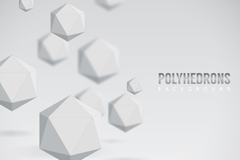 Link toCreative plain faceted background vector