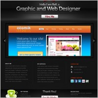 Link toCreative portfolio website psd template