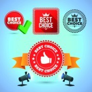 Link toCreative promo labels design vector 02