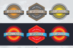 Link toCreative promotions tags design vector