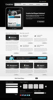 Link toCreative psd template