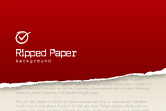 Link toCreative red paper background vector