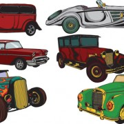 Link toCreative retor cars vector 01 free