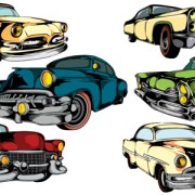 Link toCreative retor cars vector 02 free