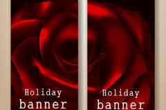 Link toCreative rose banner design vector