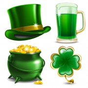 Link toCreative saint patrick day elements icons vector free