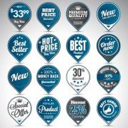 Link toCreative sale badges design graphics 02 free