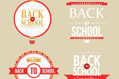 Link toCreative school tag vector