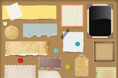 Link toCreative scrapbooking kit vector