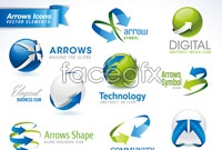 Link toCreative signs arrow vector graphics