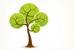 Link toCreative sphere tree vector