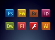Link toCreative suite icons vector free