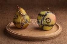 Link toCreative technology mandar in orange fruit picture material