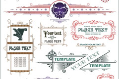 Link toCreative text patterns tag vector