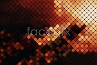 Link toCreative trend color mosaic background vector