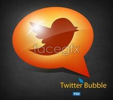 Link toCreative twitter dialog bubble psd