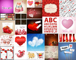 Link toCreative valentine's element vector