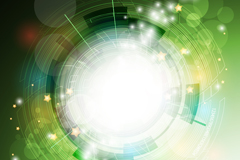 Link toCreative visionary circle vector background