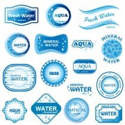 Link toCreative water elements logos vector 01