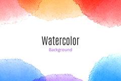 Link toCreative watercolour background vector