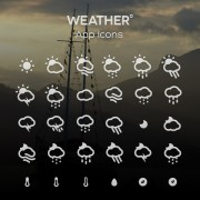 Link toCreative weather app icons free