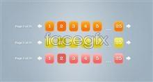 Link toCreative web design page design template psd