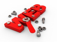 Link toCreative web letters red screw pictures