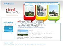 Link toCreative website home design source files psd