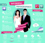 Link toCreative wedding elements vector