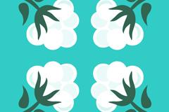 Link toCreative white cotton design vector