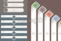 Link toCreative white web banner vector