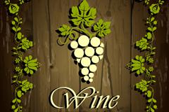 Link toCreative wine wood grain background vector