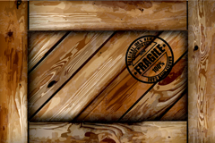 Link toCreative wooden background vector