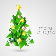 Link toCreative xmas tree background vector graphics 03
