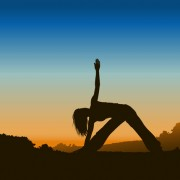 Link toCreative yoga and sunset vector 01 free