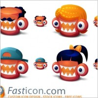 Link toCreatures family icons icons pack