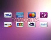 Credit card logo psd