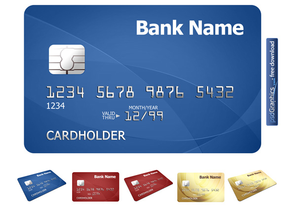 Link toCredit card template psd