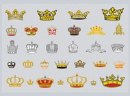 Link toCrowns vector free