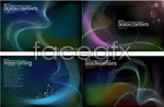 Link toCrystal accent fantasy backgrounds vector